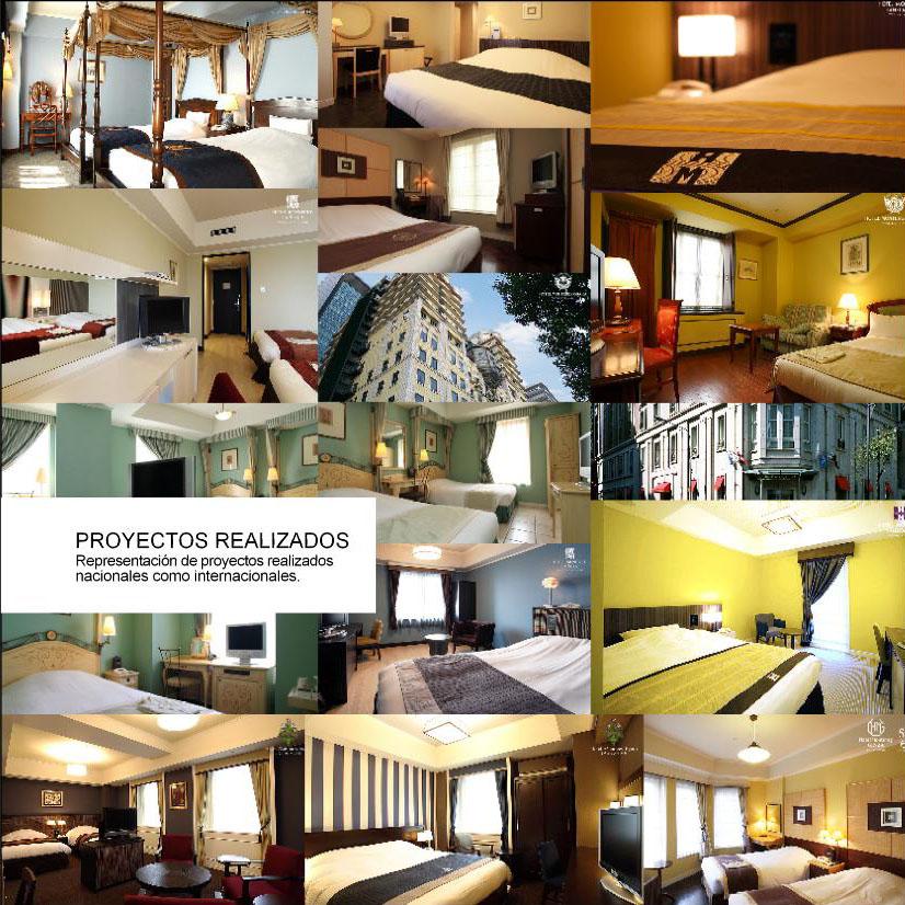 Fabricación proyectos de muebles en hoteles internacionales