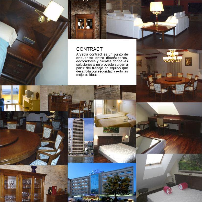 Aryecla fabricación muebles para hoteles