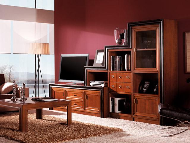 Mueble modular para salón con muchas posibilidades